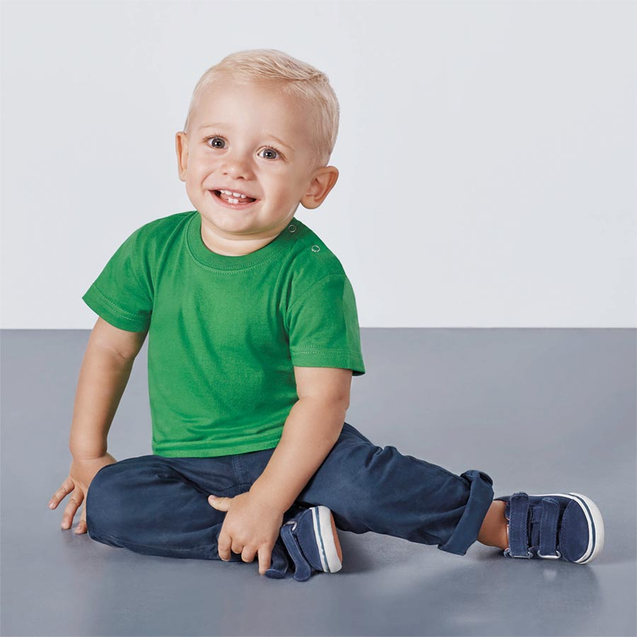 cc5cc86f0 Camiseta Manga Corta Baby 6564 Bebé de Roly - Minutoprint