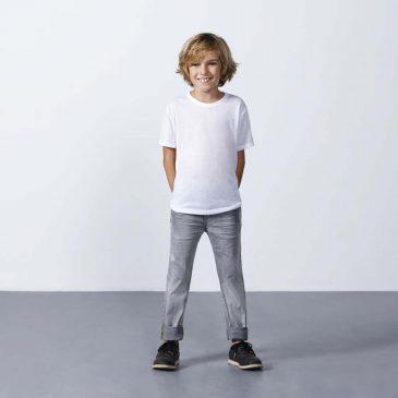 Camiseta Manga corta Sublima 7129 Niño de Roly