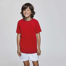 camiseta poliester niño