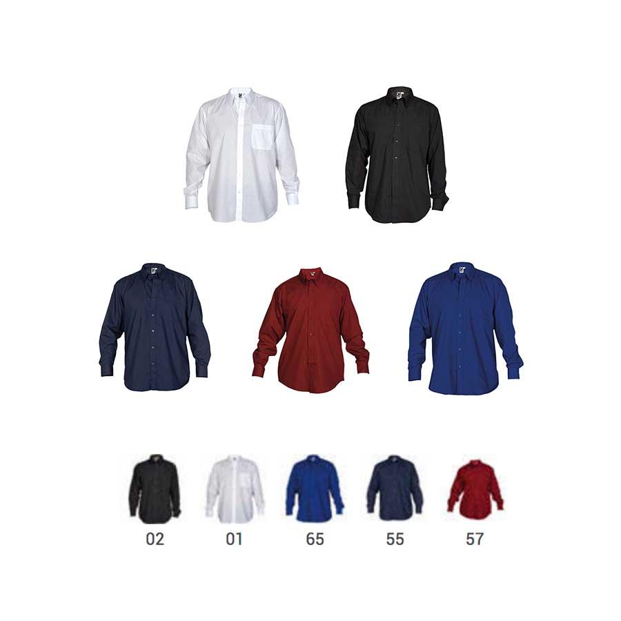 24c7a2bbef Camisa laboral Manga Larga Aifos L S 5504 Hombre de Roly - Minutoprint