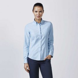 Camisa laboral Oxford Woman de Mujer Roly