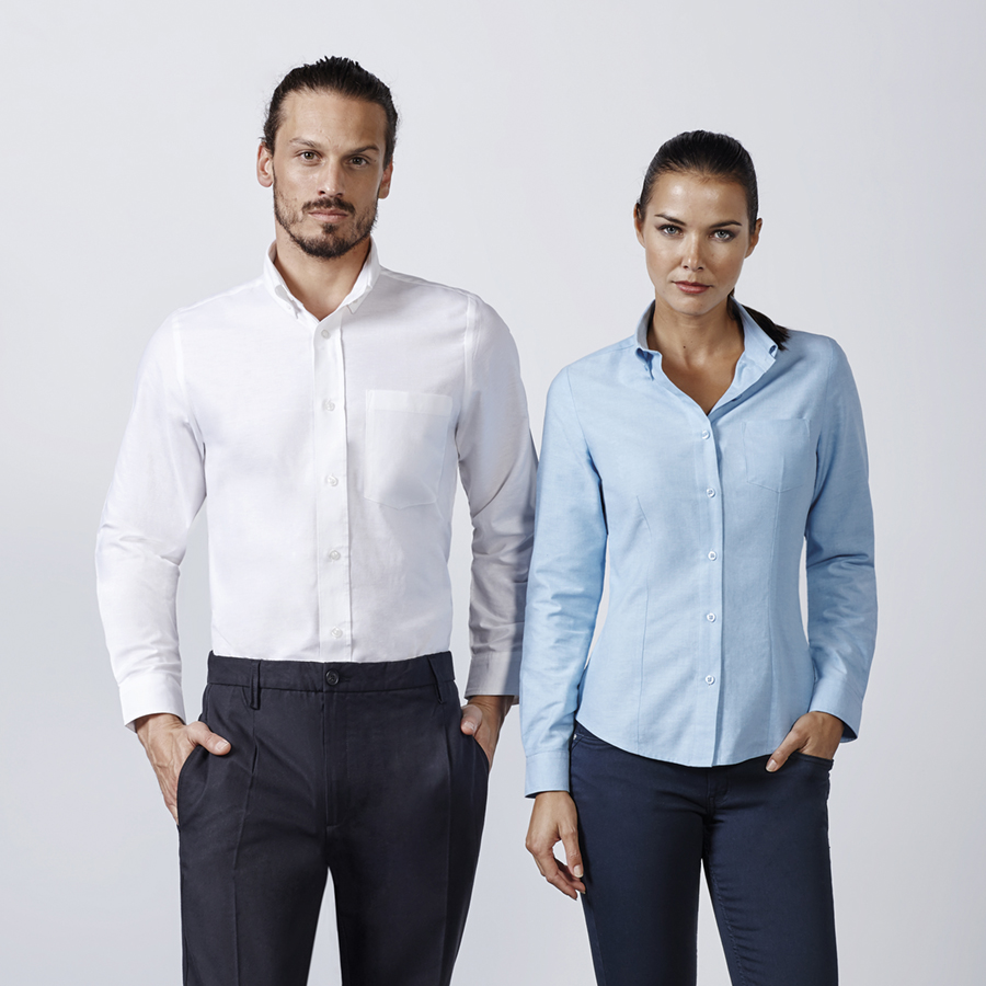 Camisa laboral Oxford (CM5507) | Roly