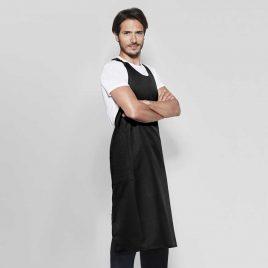 Delantal largo dos bolsillos Chef 9122 de Roly