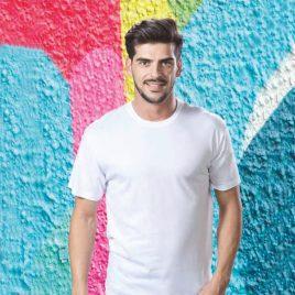 Camiseta Hecom Blanca 4199 Hombre de Makito