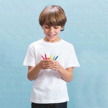 Camiseta Hecom Blanca 4200 Niño de Makito