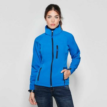 Soft Shell Antartida Woman 6433 de Roly