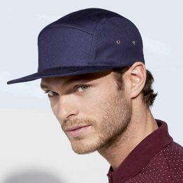 hombre con gorra para regalo de color azul french marino