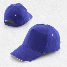 gorras de color azul a la venta