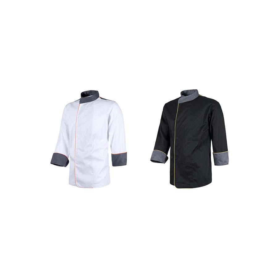 41c3f1b8fa2 Casaca de cocina Unisex B9240 de Workteam- Minutoprint