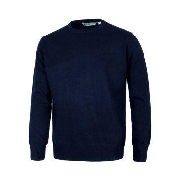 Jersey de punto fino de cuello redondo - Minutoprint