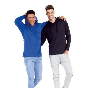 Camiseta M/L con capucha Burgos 161 de Joylu
