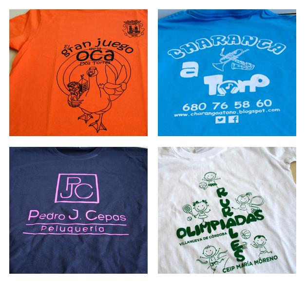 Camisetas serigrafiadas en Minutoprint