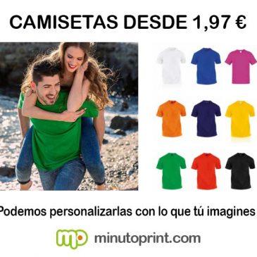 Camisetas desde 1,97 €