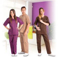 Casacas y pantalones laborales unisex para uniformes de trabajo en el sector servicios - Minutoprint