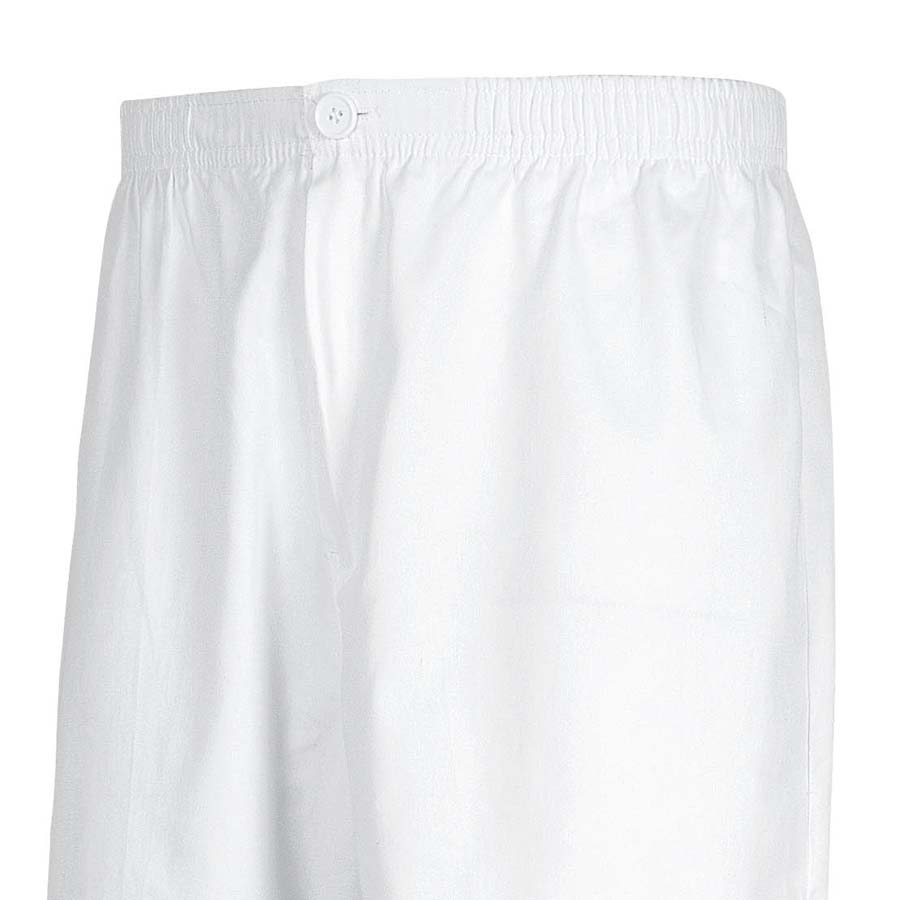 Pantalón sanitario unisex blanco de Workteam - Minutoprint