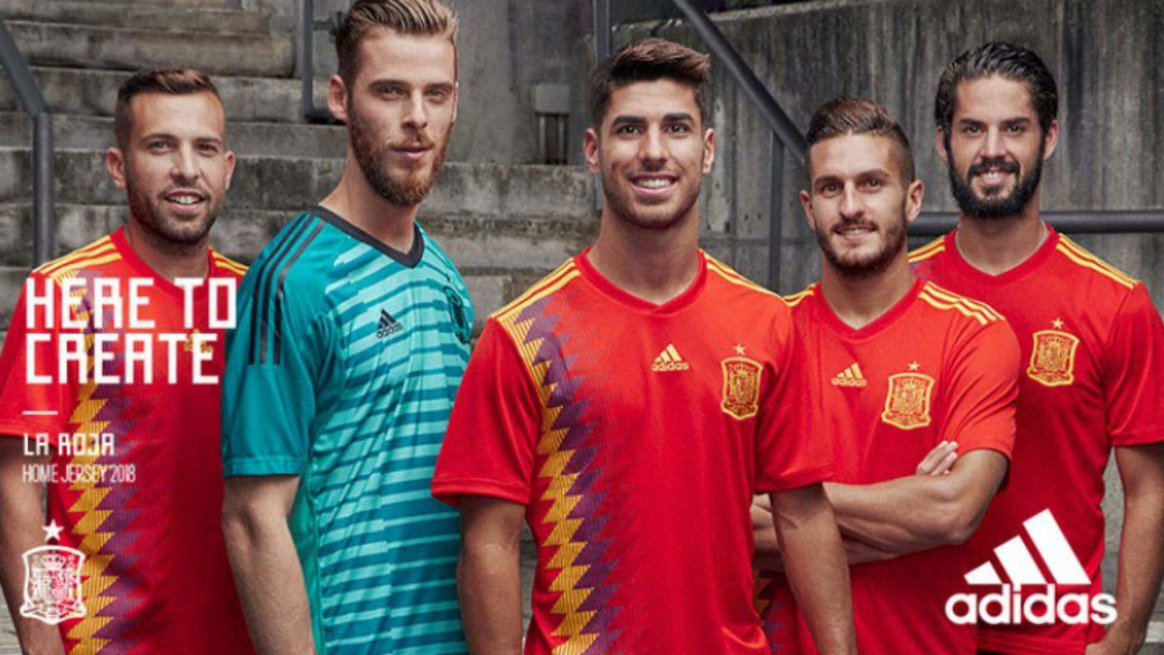Nueva camiseta de España para el Mundial de Rusia - Minutoprint