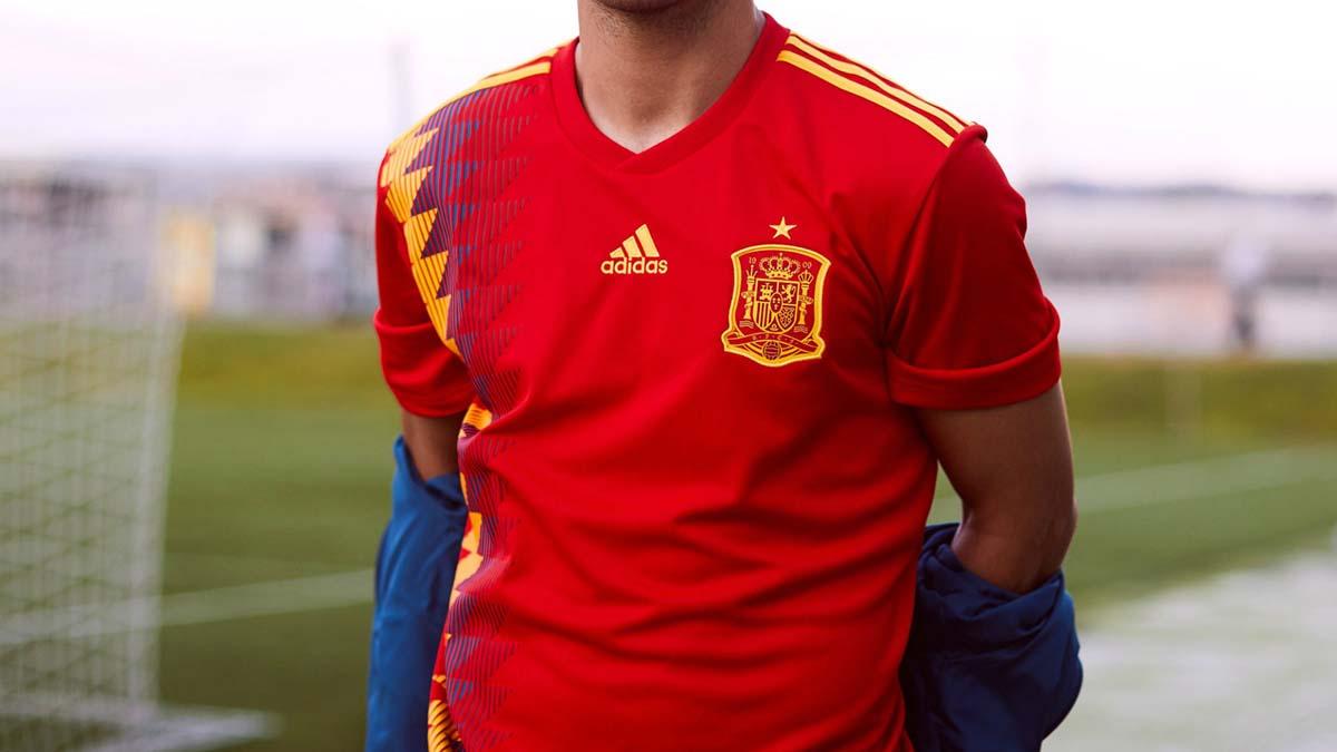 Nuevo diseño de la camiseta de la Selección Española para el Mundial de Rusia