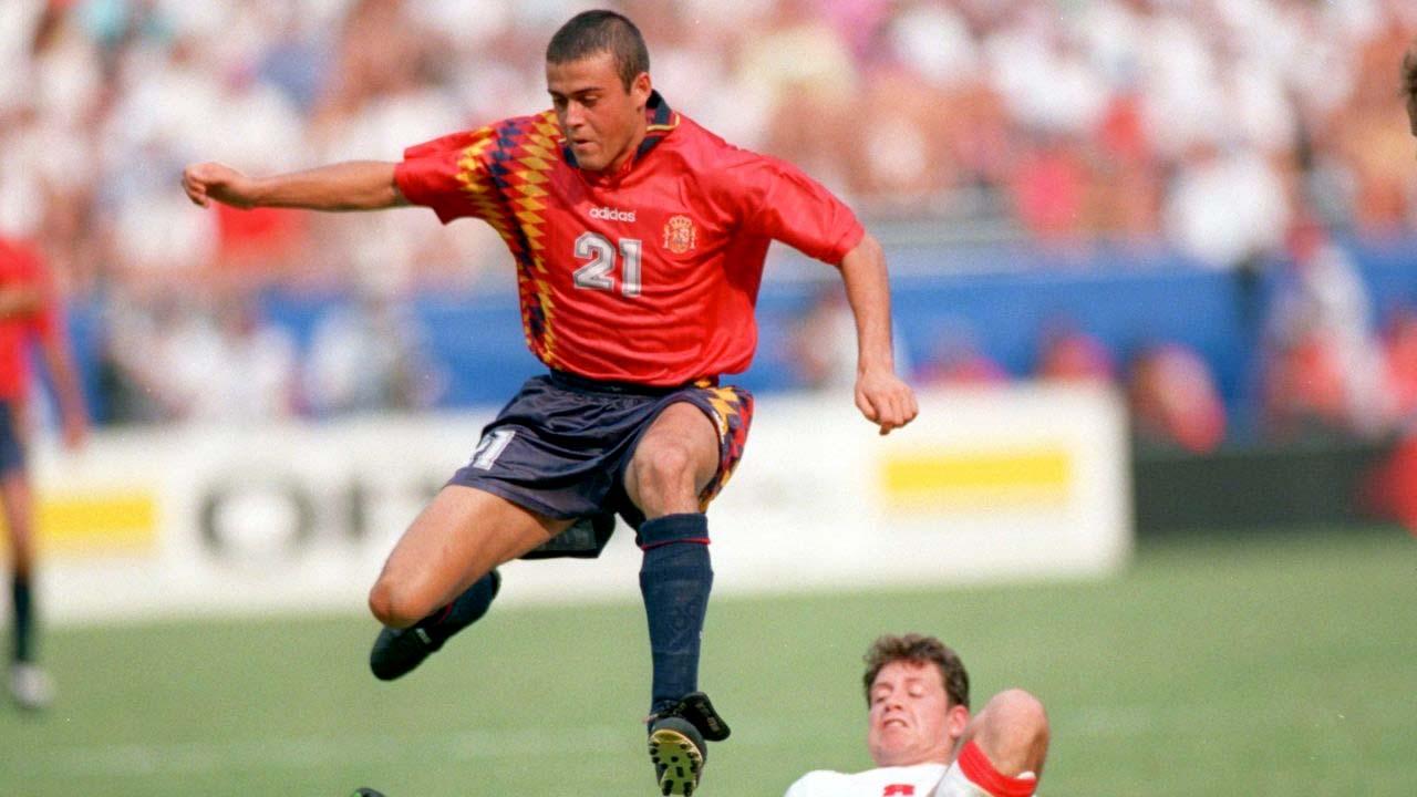 Camiseta de la Selección Española de Fútbol en el Mundial de 1994