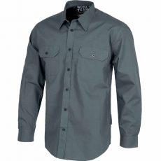 Camisa de algodón laboral