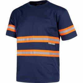 Camiseta con bandas reflectantes