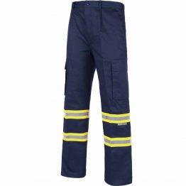 Pantalón con cintas reflectantes