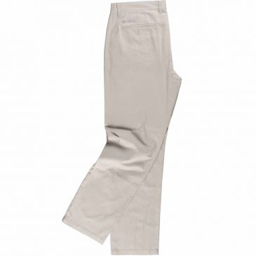 Pantalón algodón recto
