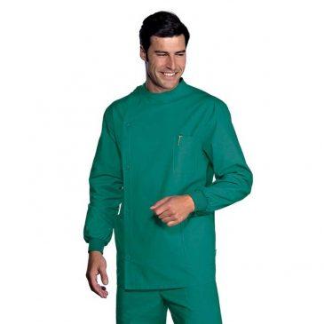 Casaca Verde Dentista Unisex de Isacco