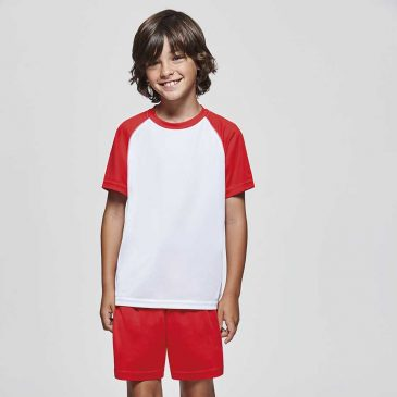 camiseta deportiva niño