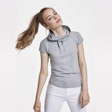 Camisetas cuello chimenea de mujer